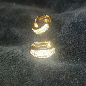 VINTAGE Christian Dior authentic clip on earrings